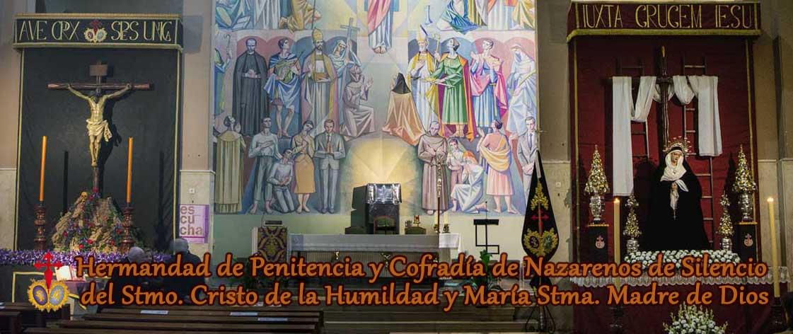 Imagen cabecera con titulo de la Hermandad